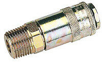 Draper 37837 Bulk 1/2 Male Thread PCL Tapered Airflow Coupling (Sold Loose)
