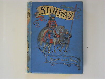 SUNDAY  Reading For The Young   1895
