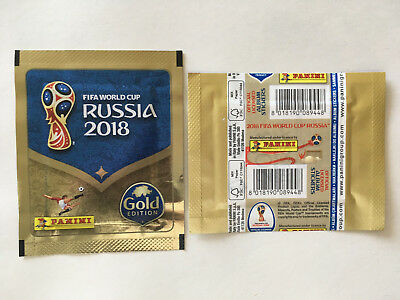Pochette Panini Wc Coupe Monde 2018 Russia Packet Bustina Swiss Suisse Gold