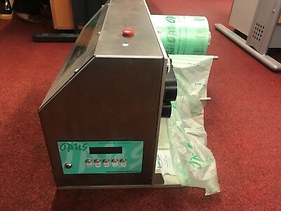 Opus Air Cushioning system greenline bubble wrap machine with 12 rolls 200*200