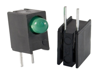 5x L-934EW/1GD Diode LED in housing No.of diodes1 3mm THT green 8-20mcd
