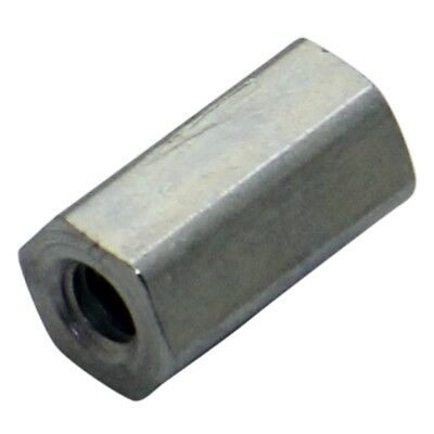 10x TFF-M3X10/DR144 Spacer sleeve Int.thread M3 10mm hexagonal stainless 144X10