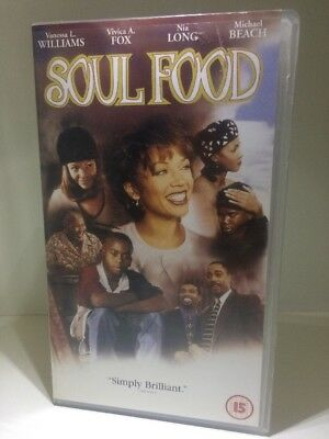 Soul Food (VHS, 1998) Tape Cassette Video VHS New & Sealed b- Collectables