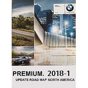BMW 2018-1 Premium Map Data North America CIC