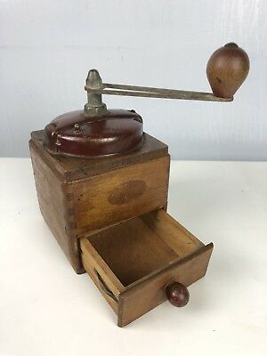 Beautiful Vintage Coffee Grinder Mill, Peugeot Freres Style