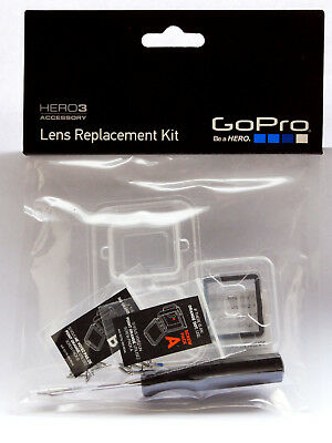 Go Pro Hero 3 Genuine Lens Replacement Kit. New Sealed Uk Stock