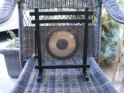Woodchimes Table-top Gong w/ Stand & Striker