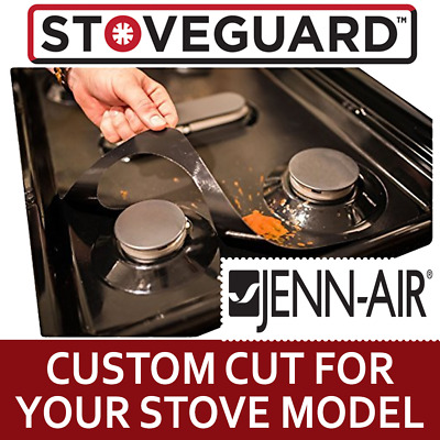 Stove Top Protector for Jenn-Air Gas Ranges - Ultra Thin, Easy Clean Stove Liner