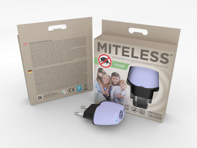 Miteless - Ultrasound Device to Prevention before Dust Mites