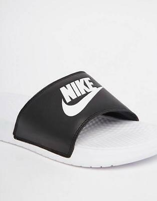 best website 21926 489fd 1803 Nike Benassi Jdi Mismatch Slider Flip Flops Men s Sandals 818736-011