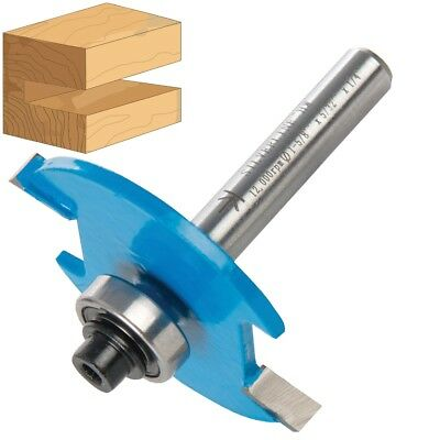 "BISCUIT ROUTER BIT 1/4"" Steel Shank Groove Joint No. 10 & 20 Cutter TCT Tungsten"