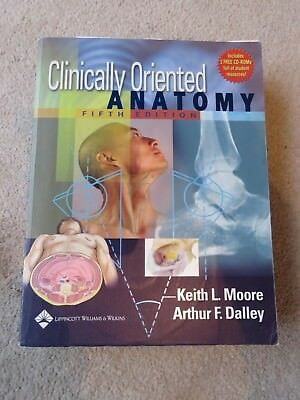 CLINICALLY ORIENTED Anatomy by Keith L. Moore 9781496354044 ...