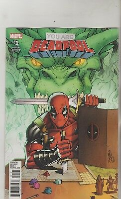 Marvel Comics You Are Deadpool #1 July 2018 Ron Lim Variant 1St Print Nm