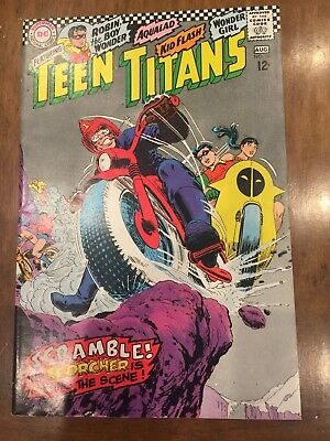 DC Silver Age Comic Book Teen Titans Issue #10 (1967) Quality Copy