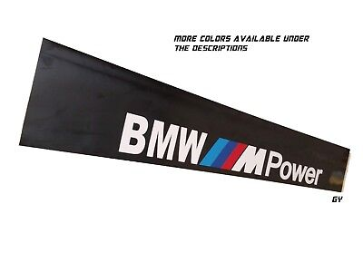 BMW M Power Windshield Sun Visor Strip Decals Cars Stickers Banners