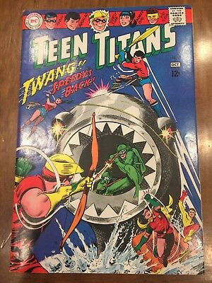 DC Silver Age Comic Book Teen Titans Issue #11 (1967) Quality Copy