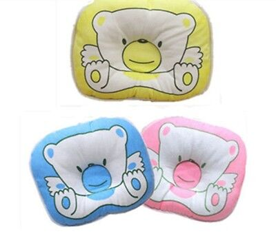 Baby Infant Soft Pillow Prevent Flat Head Anti Roll Cushion Pad Sleeping Support