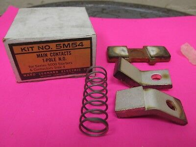 WARD LEONARD 5M54 Main Contact Kit for Size 4 Contactors New in Box