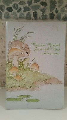Vintage current inc folding greetingnote cards seals of choice vintage current inc meadow mischief folding greetingnote cards seals mouse m4hsunfo