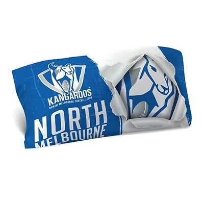 Official AFL North Melbourne Kangaroos Bed Single Pillowcase Pillow Case