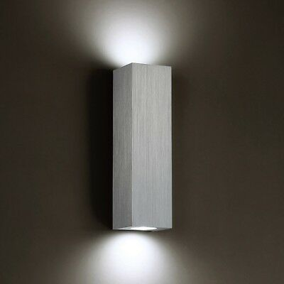 "Modern Forms WS-31711-AL C-4 Light 3"" Wide Integrated LED Wall Sconce"