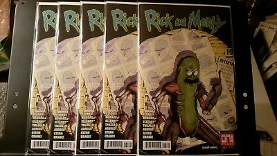 Rick and Morty 37 Pickle Rick variant NM Sold Out
