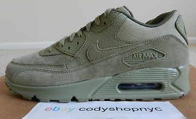8a28d857f2a DS Nike Air Max 90 Premium Neutral Olive Tonal mens running trainer 700155- 202