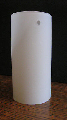 6 x cylindrical frosted opaque white glass light lamp shades height 6 x cylindrical frosted opaque white glass light lamp shades height 14cm aloadofball Gallery