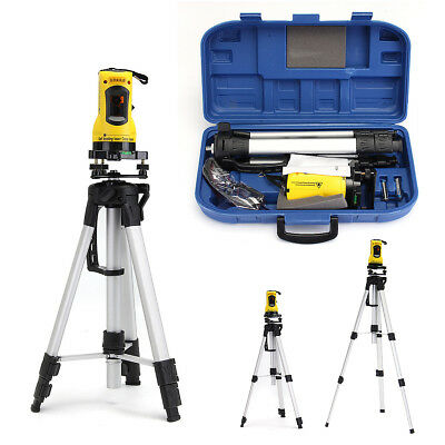 Self Leveling Rotary Rotating Laser Level Red Beam Cross Line W/ Tripod Stand AU