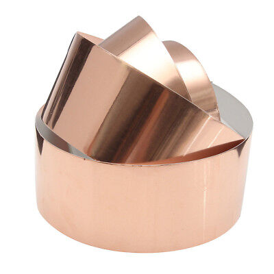 50mm x 3m EMI Copper Foil Shielding Tape Conductive Self Adhesive Barrier-KOR