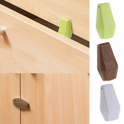 4Pcs Cabinet Drawer Cupboard Locks Buckle for Baby Safety Child Proof Kids New