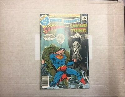 DC Comics presents Superman and Swamp Thing No.8