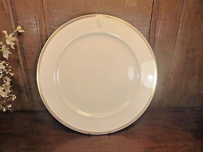 """BOXED Rosenthal VERSACE IKARUS """"MEDUSA MEANDRE D'OR"""" CHARGER PLATE 31cms"""