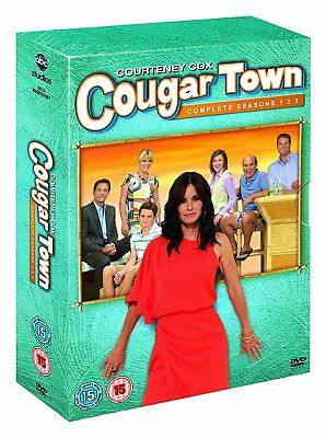 Cougar Town The Complete Series Season 1, 2 & 3 DVD Box Set R4 New Sealed