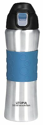 16oz Stainless Steel Vacuum Insulated Water Bottle Sports Bottle By Utopia Home