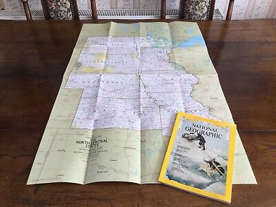 National Geographic March 1974 North Central States Artic Trek Japan Nebraska