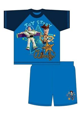 BOYS TOY STORY SHORTIE PYJAMAS 12 Months - 4 Years