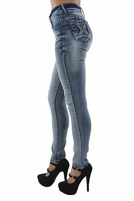 S6253 - Colombian Design, Butt Lift, Push Up, High Waist, Skinny Jeans