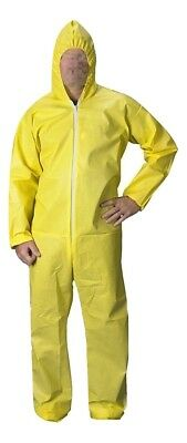 Breaking Bad Heisenberg Walter White Dress Cosplay Coverall Chemical Suit M-3XL