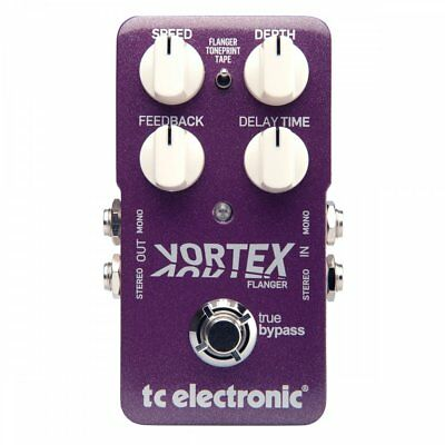 TC Electronic Vortex Flanger Effects Pedal for Guitar