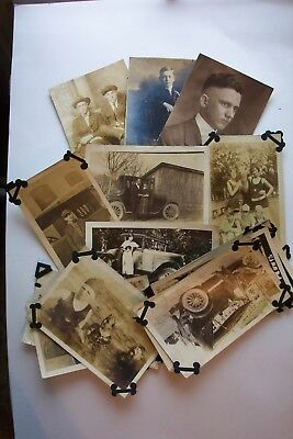 Vintage 28 Photos 1920's Rescued from Family Album Formal Autos Swim Suits  Etc