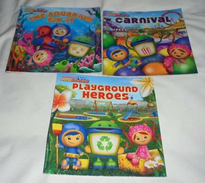 Set of 3 Nickelodeon Umizoomi series picture books