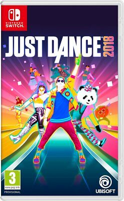 Just Dance 2018 - Nintendo Switch Neuware OVP