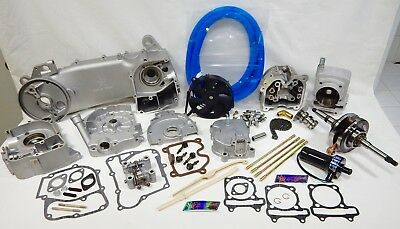 TAIDA 232cc LONG CASE LIQUID / OIL COOLED 4-VALVE 67mm BORE MOTOR KIT