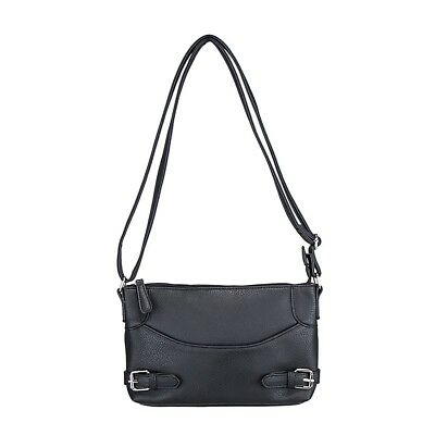 Vism  Bwu001 Crossbody Ccw Purse Bag- Black