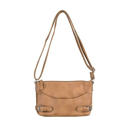Vism  Bwu002 Crossbody Bag Ccw Purse Bag- Brown