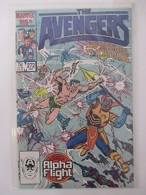 THE AVENGERS #272 Marvel Comics 1986 Bagged & Boarded VF-NM (CS5318)