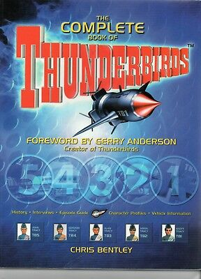 The Complete book of Thunderbirds / V.Fine / Carlton 2000/ Unclipped.