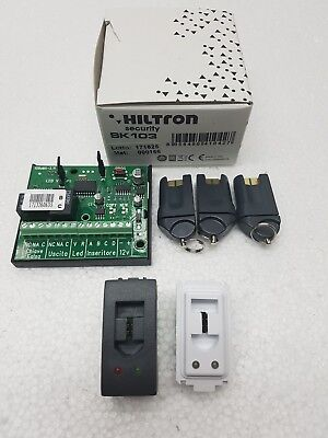 Cia / Hiltron Sk103 Kit Chiave Elettronica (Serie Magic / Living International)