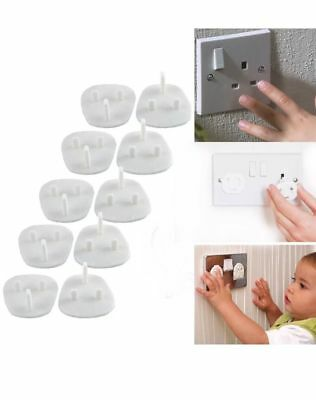 20pc Main Electrical Plug Socket Safety Covers Baby/child proof Safty Protector